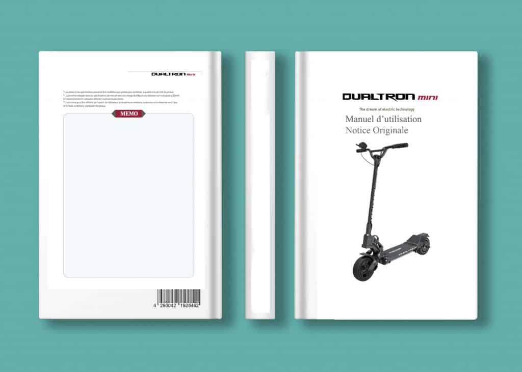 notice d''utilisation / mode emploi dualtron mini minimotors en français