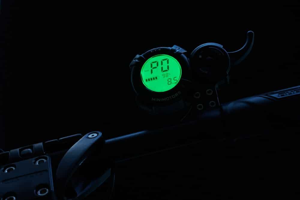 parametrage du compteur ecran lcd de la dualtron mini